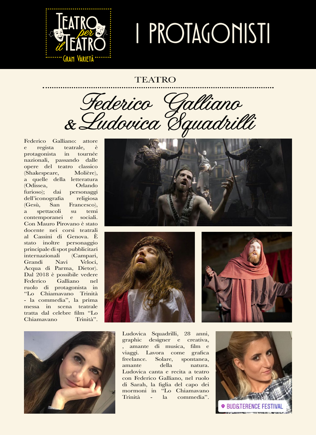 Locandina - Teatro per il Teatro